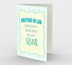 1286. Brother-in-Law/Surviving My Sis  Card by DeloresArt