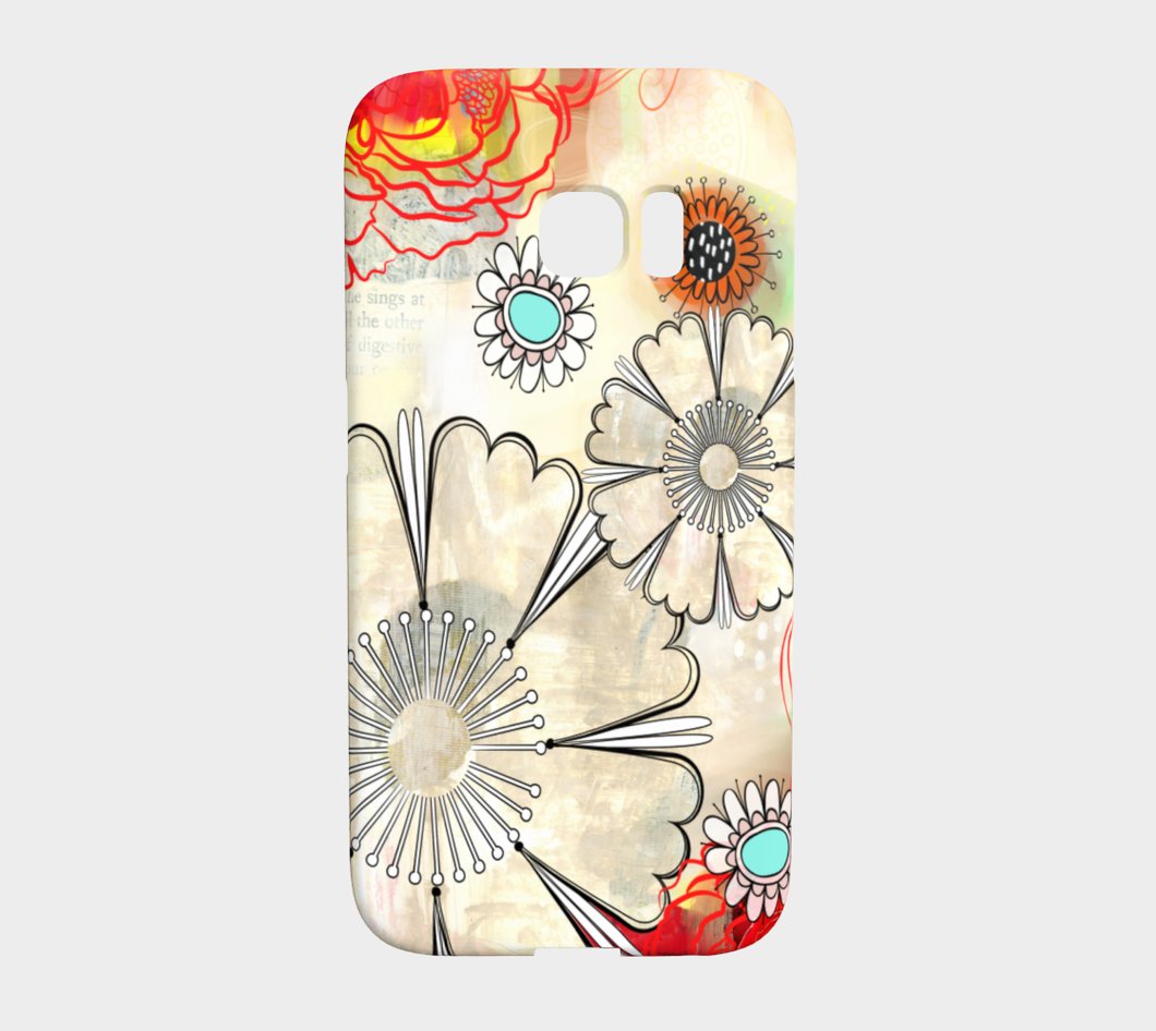 924  Floral Co Ordinate Device Case