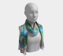 Blueberry Cheesecake Scarf by Deloresart
