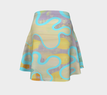 Sassy Serpentine Flare Skirt by Deloresart