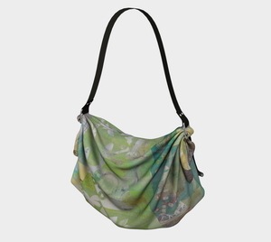 Alluring Umbrage Origami Tote by Deloresart