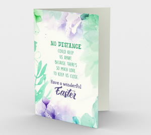 1171. No Distance Easter  Card by DeloresArt