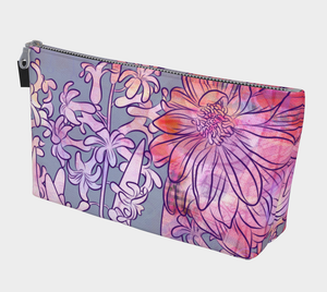Hyacinth Heaven Makeup Bag