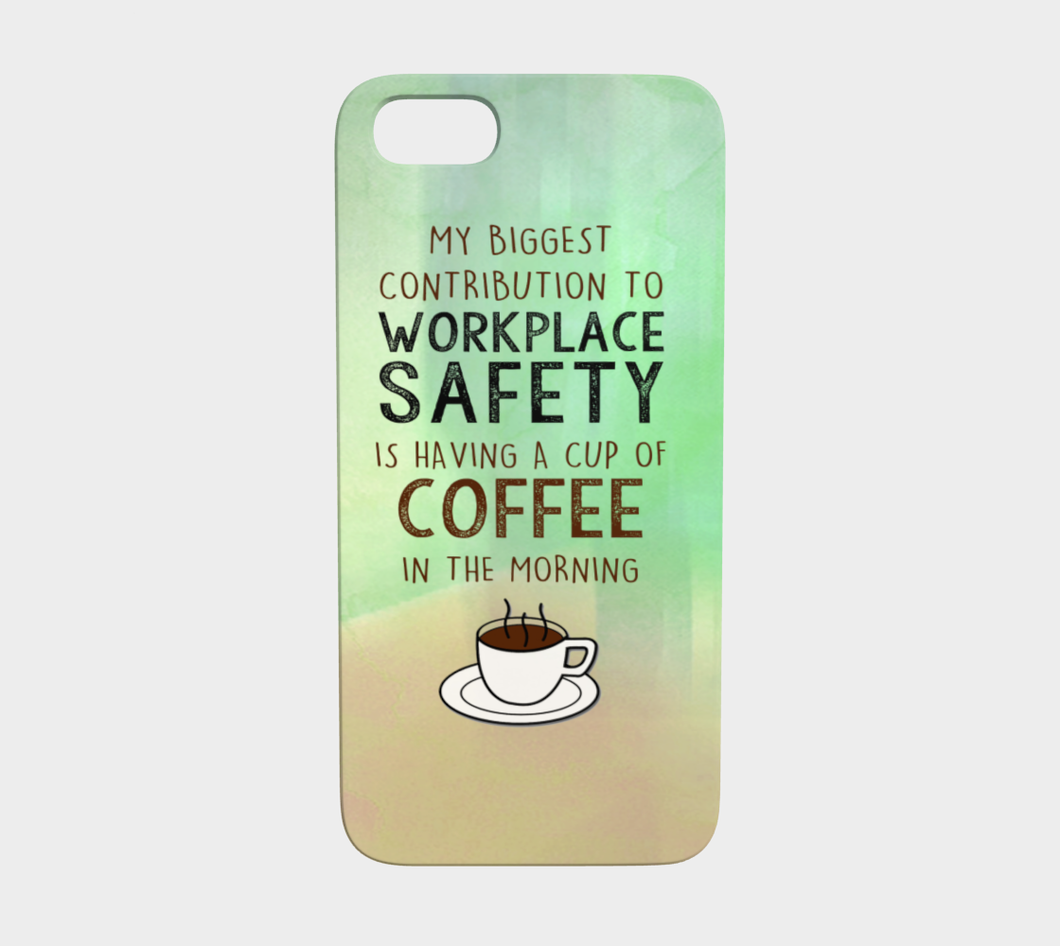 959  Coffee Contribution To Workplace Device Case