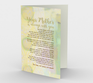 0516.Your Mother Is Always With You  Card by DeloresArt