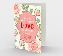 1154. All You Need Is Love v.2  Card by DeloresArt