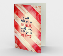 1386 Hold You In My Heart Card by Deloresart