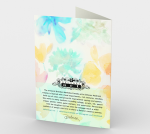 1292. Baptism/Showered w/ Blessings  Card by DeloresArt