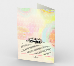 1158. Every Love Story Is Beautiful  Card by DeloresArt