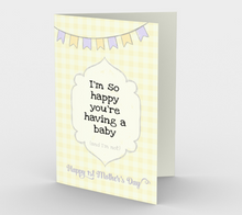 1135.Happy You're Having a Baby New Mother  Card by DeloresArt
