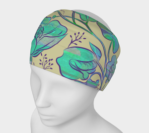 Queen Sweet Pea Headband by Deloresart