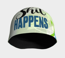 Shit Happens Beanie by Deloresart