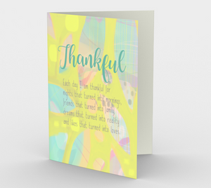 0393.Thankful  Card by DeloresArt