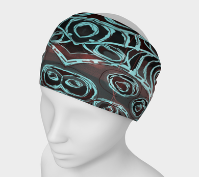 Crazy Swirl Headband by Deloresart