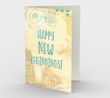 1341 Happy New Beginnings Card by Deloresart