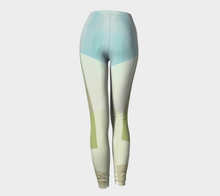 Razor Sharp Greens Leggings by Deloresart
