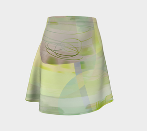 Iron Clad Flare Skirt by Deloresart