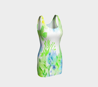 Nature's Bounty Bodycon Dress by Deloresart