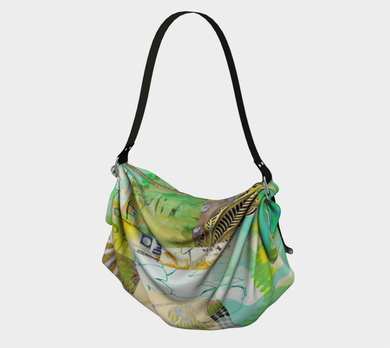 Lush Culture Origami Tote by Deloresart