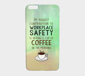 959  Coffee Contribution To Workplace Device Case - deloresartcanada