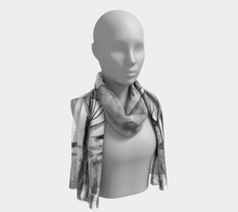 Grey Garden Scarf by Deloresart