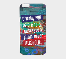 673  Drinking Rum Before 10am Device Case - deloresartcanada