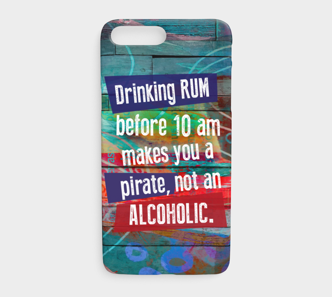 673  Drinking Rum Before 10am Device Case