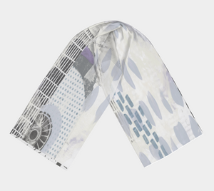 Travel Advisory Scarf by Deloresart