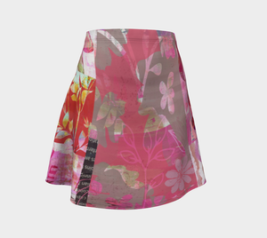 Flourish Flare Skirt by Deloresart