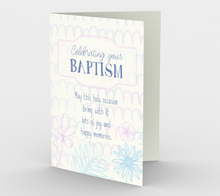1295. Celebrating Your Baptism  Card by DeloresArt