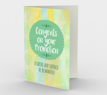 1063.Congrats on Your Promotion  Card by DeloresArt