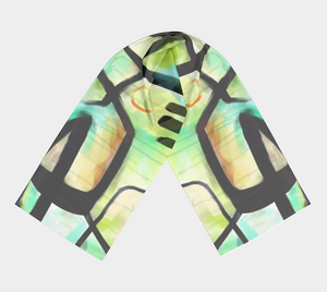 Tidal Currents Scarf by Deloresart