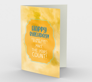 0301 Make the Years Count Card by Deloresart