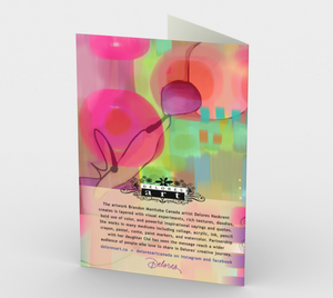 1063.Welcome - So Happy to Have You  Card by DeloresArt
