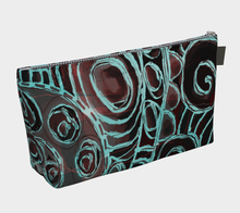 Crazy Swirls Makeup Bag