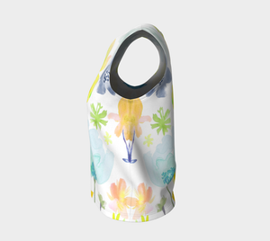 Dreamy Garden Loose Tank in Yellows