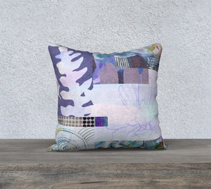 Elm Bud Throw pillow by Deloresart