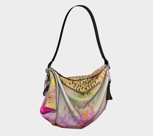 I Love Us Origami Tote by Deloresart
