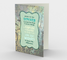 1305. Grant Me Serenity  Card by DeloresArt