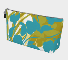 Sweet Pea Silhouette Makeup Bag
