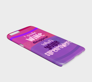 962  I Make Wine Disappear What's Your Superpower Device Case