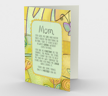 0382 Some Things Only A Mother Can Do  Card by DeloresArt - deloresartcanada