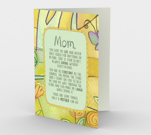 0382.Some Things Only A Mother Can Do  Card by DeloresArt