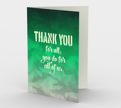 1317. Thank You Camouflage  Card by DeloresArt