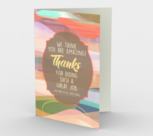 1179. Thanks For Doing A Great Job  Card by DeloresArt