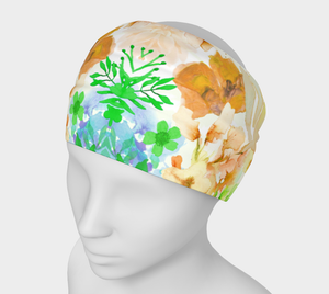 Gracious Garden Headband by Deloresart