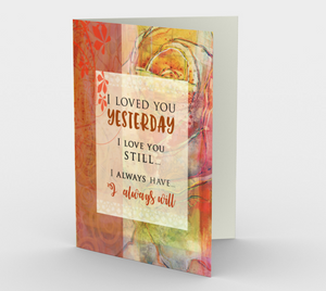 0274.I Love You Still  Card by DeloresArt