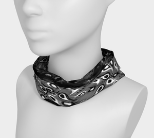 Bittermelon Paisley Headband in Black
