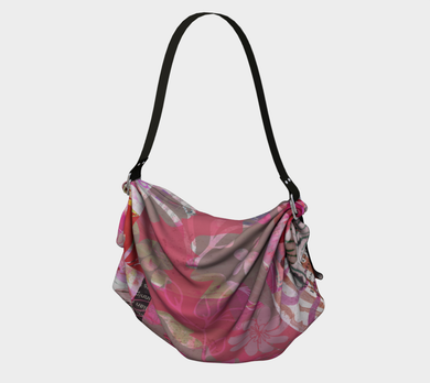 Flourish Red Origami Tote by Deloresart