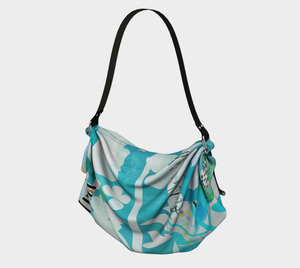 Russian Olive Origami Tote by Deloresart
